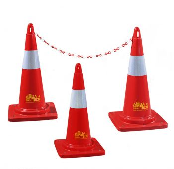 Traffic Cone with chain